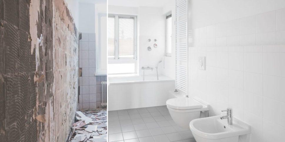 Bagno prima e dopo ristrutturazione